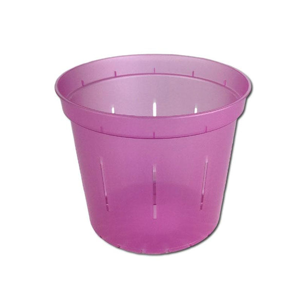 Rose Quartz Slotted Violet Pot - 4 Inch - Slot-Pots