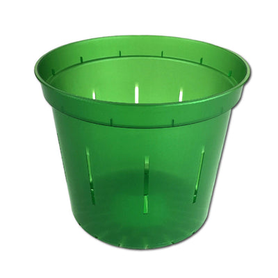 Green Emerald Slotted Violet Pot - Slot-Pots
