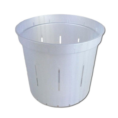 White Pearl Slotted Violet Pot - 5 Inch - Slot-Pots