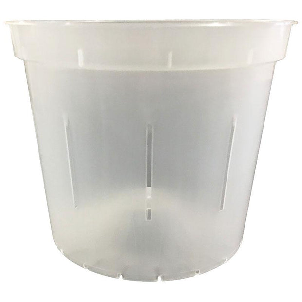 Crystal Clear Slotted Violet Pot - Slot-Pots