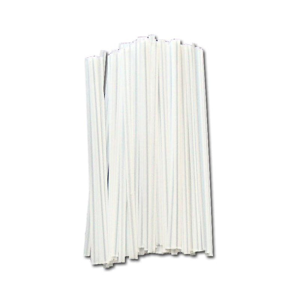 White Plastic Twist Ties - 5 inch