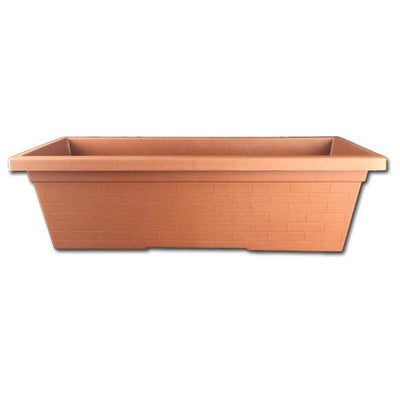 Terracotta Plastic Window Box