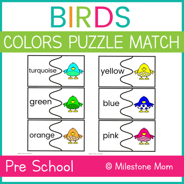 Bird Color Matching Puzzle