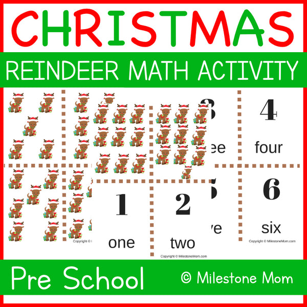 Reindeer Math Activity