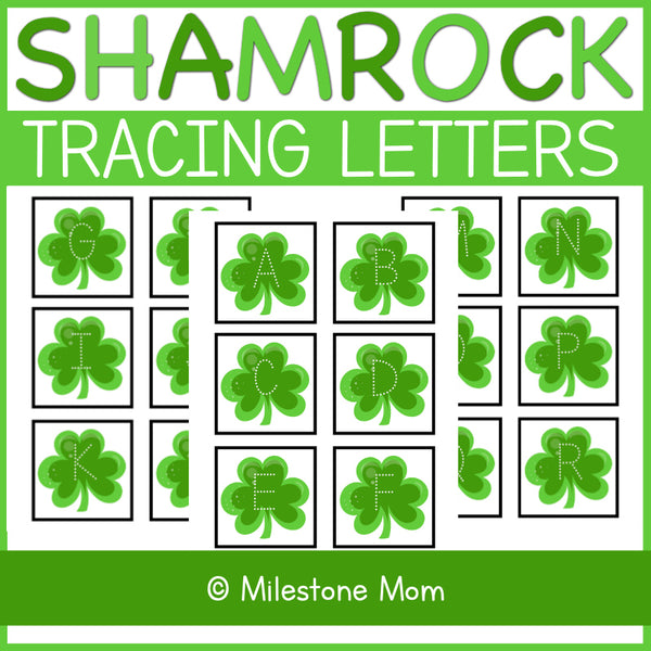 Shamrock Tracing Letters
