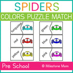 Spiders Color Puzzle Match