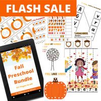 Fall Preschool Bundle - 157 Pages!