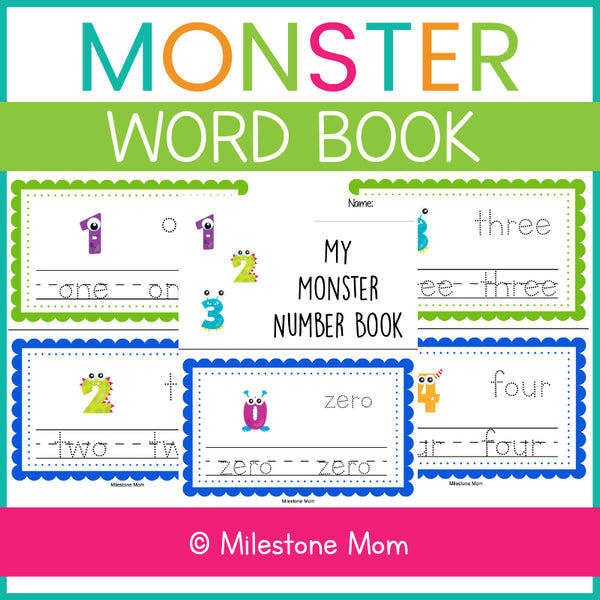 Monster Number Book