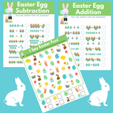 Easter Math Worksheets