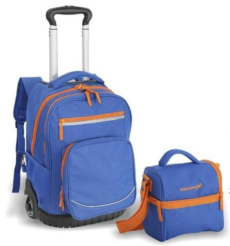 Boomerang 2Pc Trolley Backpack Set