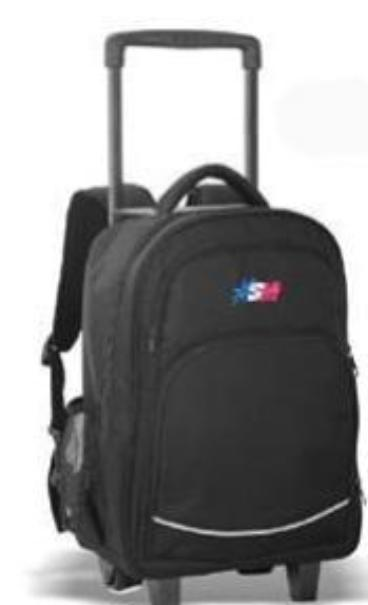 School Mate Medium Trolley Backpack