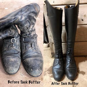 Tack Butter Before and After