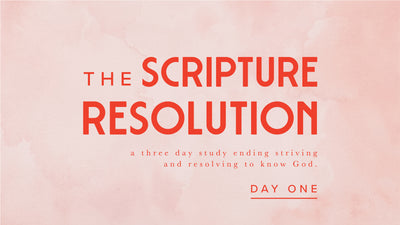 New Year Devotional: Day 1