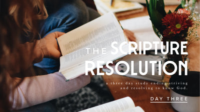 New Year Devotional: Day 3