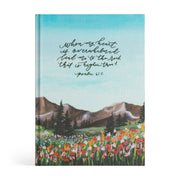 ESV Large Print Journaling Bible: Albion Theme
