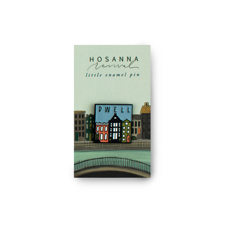 Hosanna Revival Enamel Pin: Dwell
