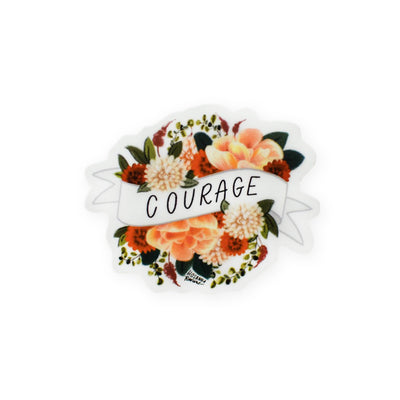 Hosanna Revival : Courage Mini Banner Sticker
