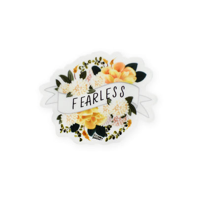 Hosanna Revival : Fearless Mini Banner Sticker