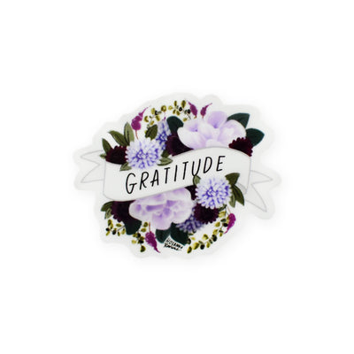 Hosanna Revival : Gratitude Mini Banner Sticker