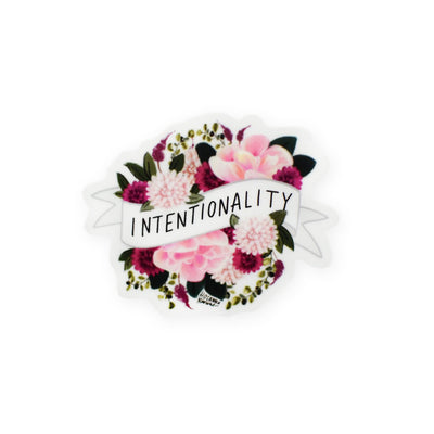 Hosanna Revival : Intentionality Mini Banner Sticker