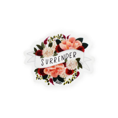 Hosanna Revival : Surrender Mini Banner Sticker