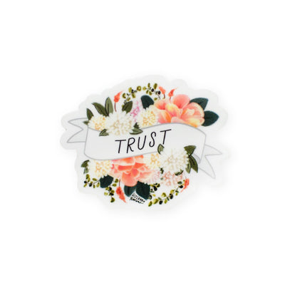 Hosanna Revival : Trust Mini Banner Sticker