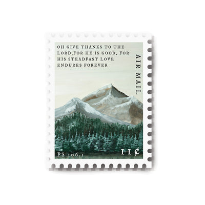 Hosanna Revival : Psalm 106:1 Stamp Sticker