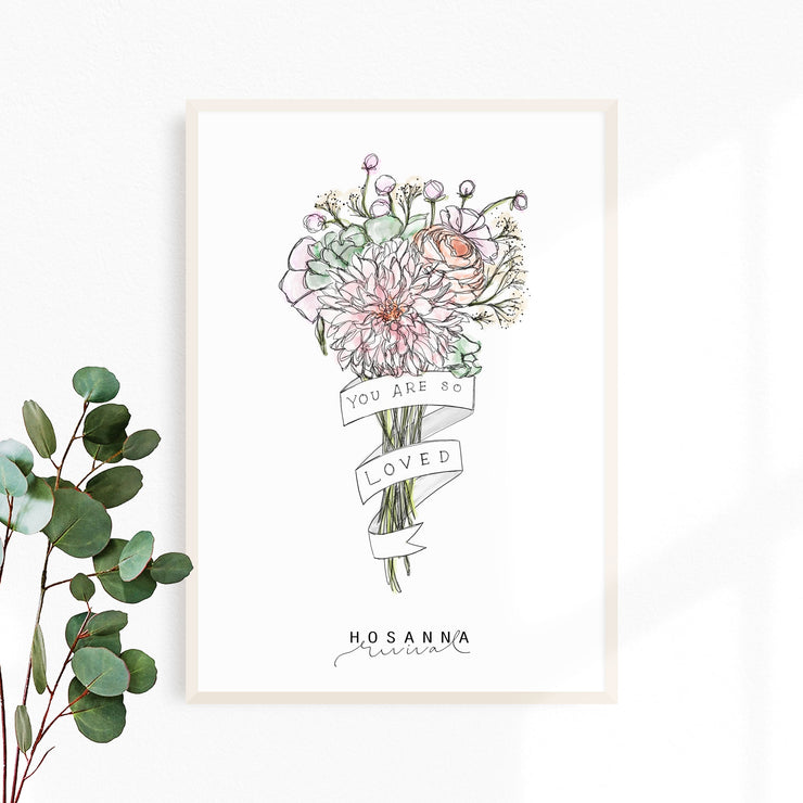 Hosanna Revival : You Are So Loved Print