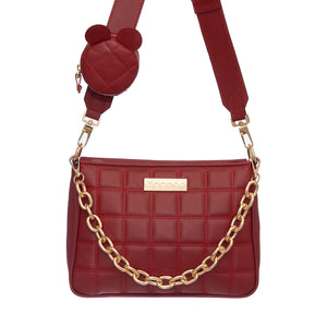 CHIARA BURGUNDY BAG