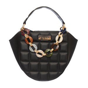 EVA BLACK  QUILTED