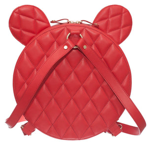 AIME RED QUILTED