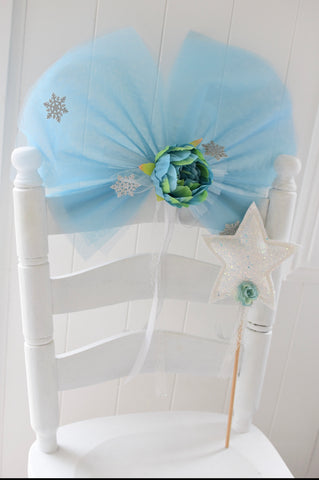 Frozen Fairy Wings and Wand Set