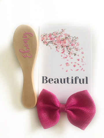 Personalised Name Hair Brush