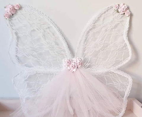 Lace Fairy Wings