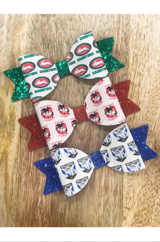 NRL Football Team Bow