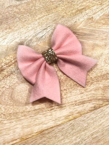 Wool Felt Piper Bow - All Colours