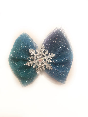 Frozen Tulle Bow