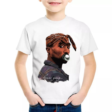 2pac Forever Young Kids Tee