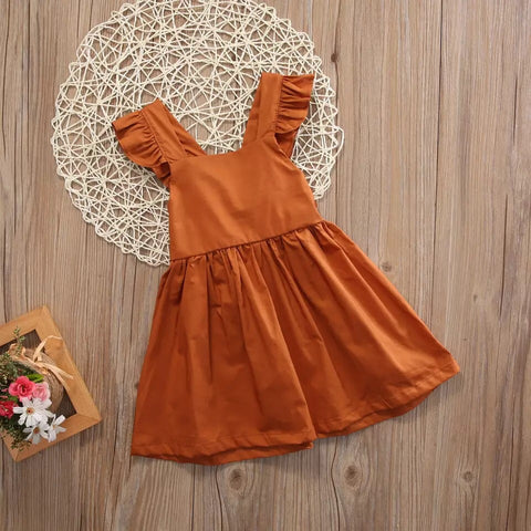 Tie back Sweetheart Dress