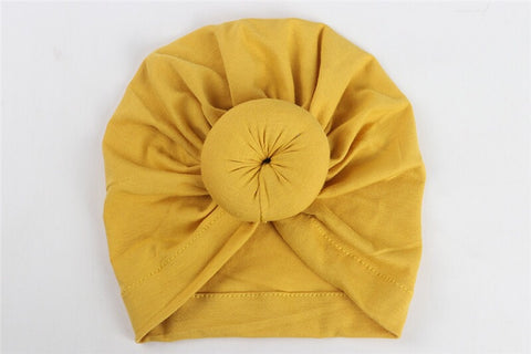 Baby Head Turban - 4 Colours