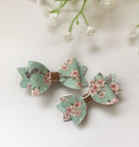 Cherry Blossom Piggy Clips