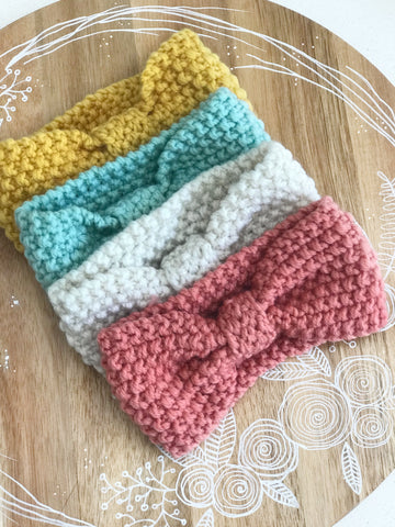 Woolen Knit Headbands