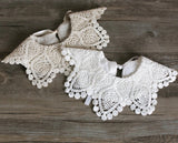 Lace Collar Bib