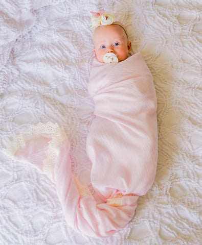 Light Pink Heirloom Blanket