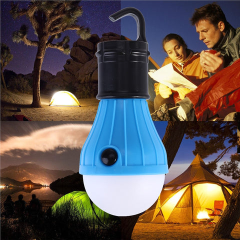 3 LED Outdoor Camping Tent light