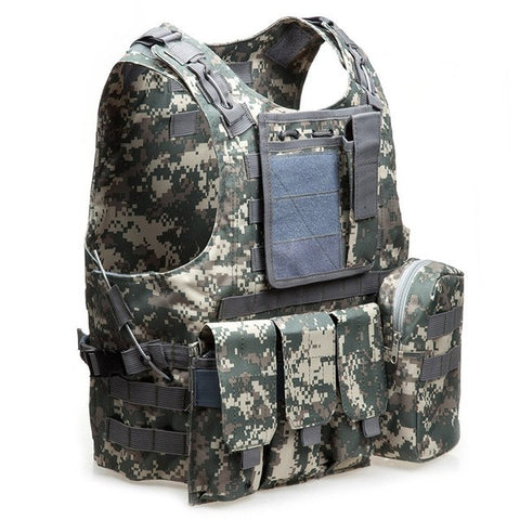 Tactical Vest for Quick Access