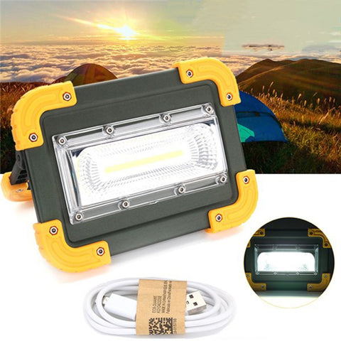 LED Portable Rechargeable Flood Light
