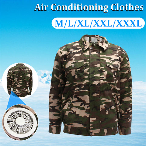 Cooling Portable Air Conditioned Clothing