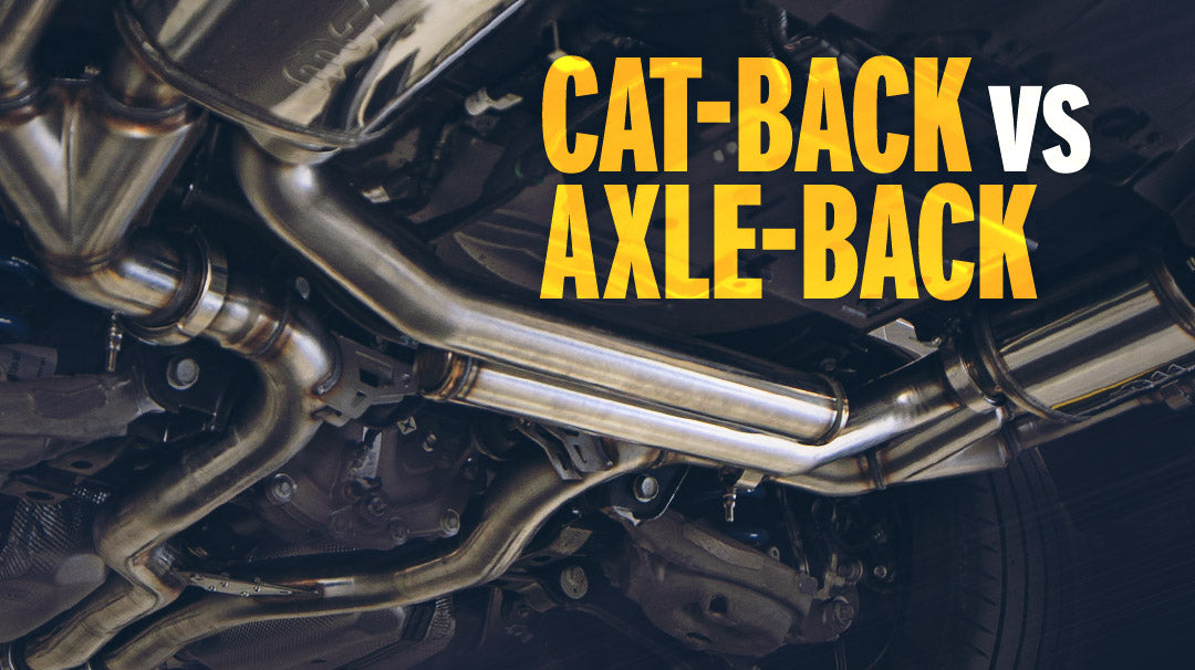 Cat-Back Exhaust Vs. Axle-Back Exhaust Systems: What's the Difference?
