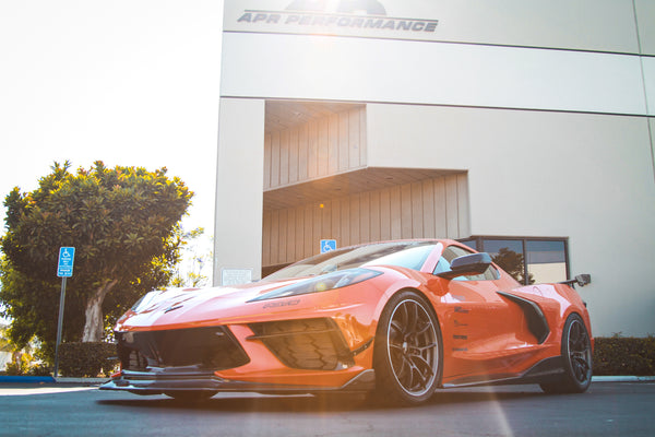 APR's 2020 Chevy Corvette C8 for SEMA with MagnaFlow xMOD Exhaust Series